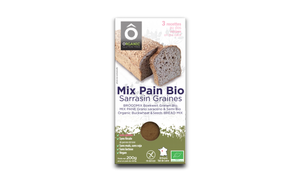 Mix Pain Sarrasin . Graines BIO Vegan sans gluten 200g